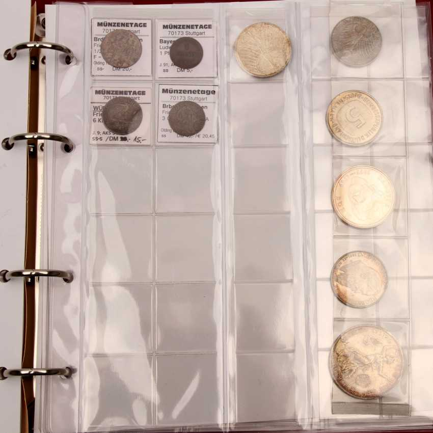 Interesting compilation of mostly older coins, - photo 3