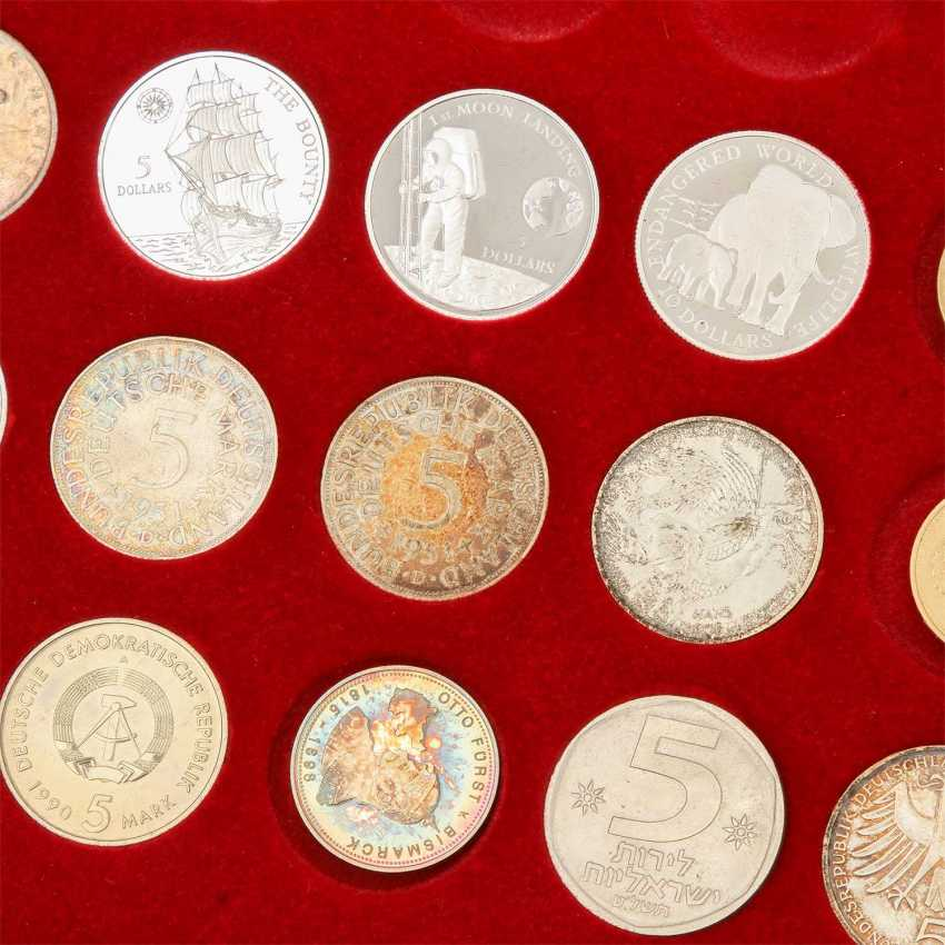 Collection of coins and medals, with SILVER in the process - photo 3