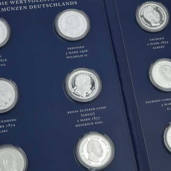 Historical German Coins - Slg. of 12 pieces, - photo 2