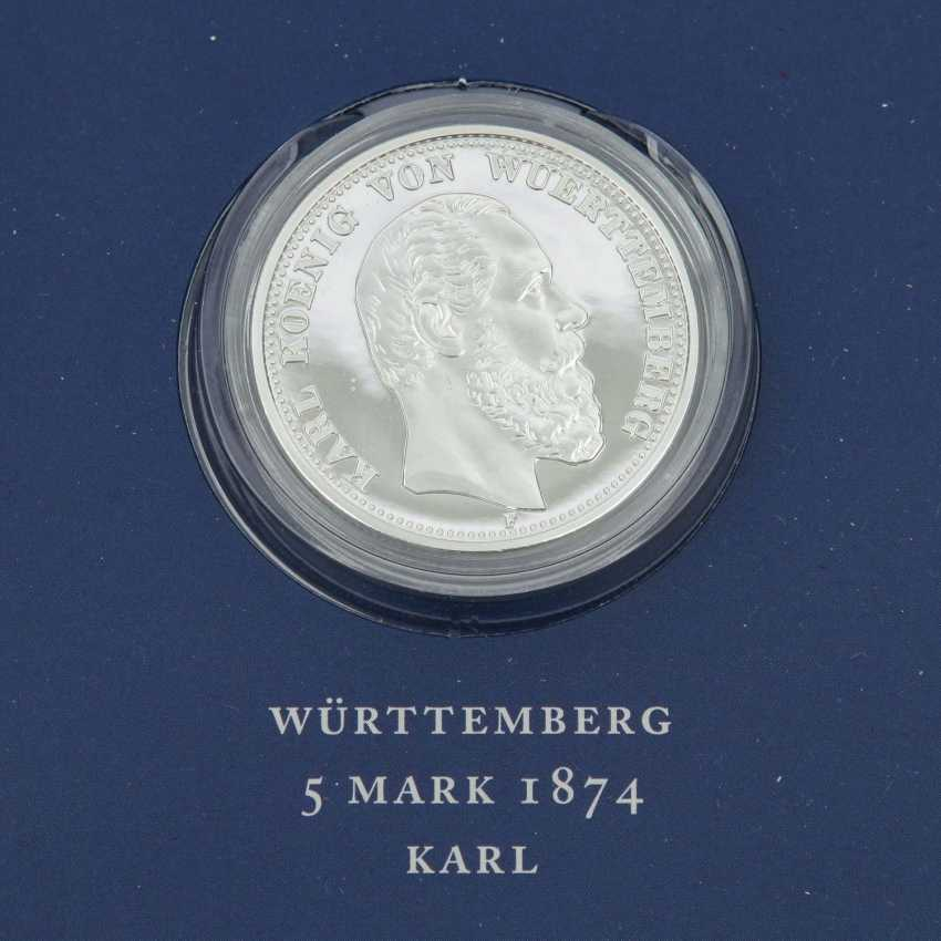Historical German Coins - Slg. of 12 pieces, - photo 3