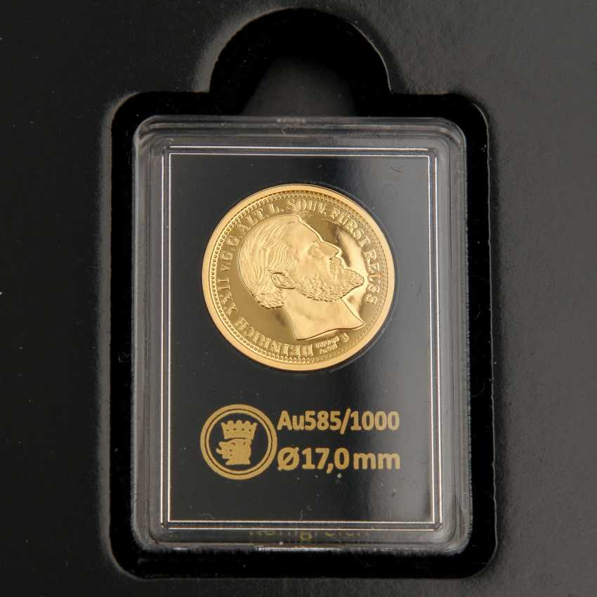 GOLD - Box with 10 gold medals, 585 alloy, - photo 5