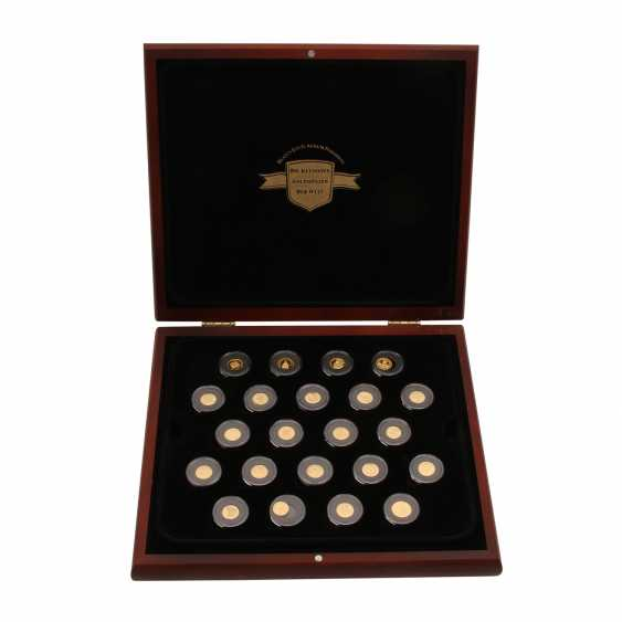 "GOLDset ""The smallest gold coins of the world"" - consisting of - photo 1"