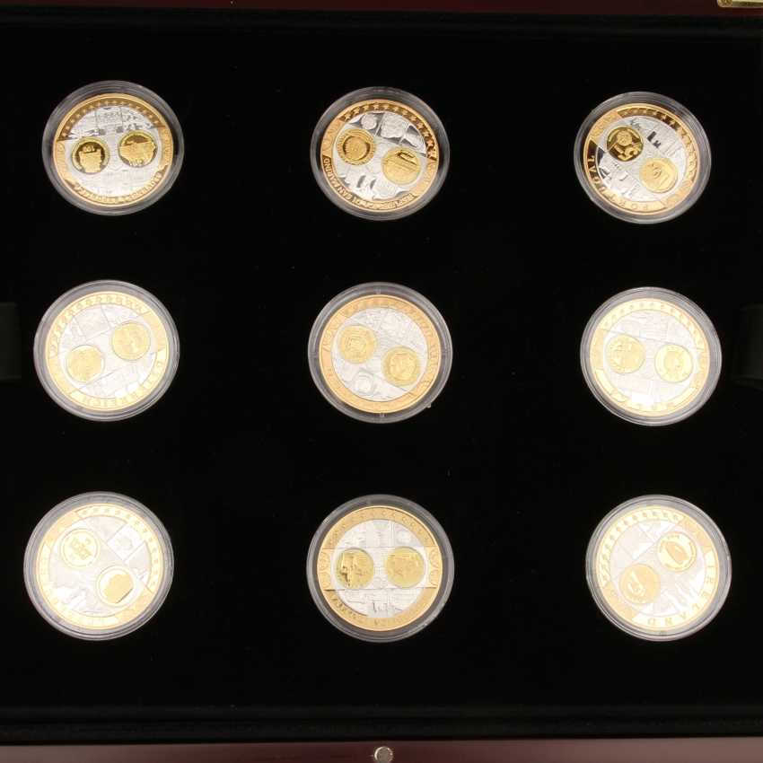 2 Sets of silver commemorative medals consisting of - photo 2