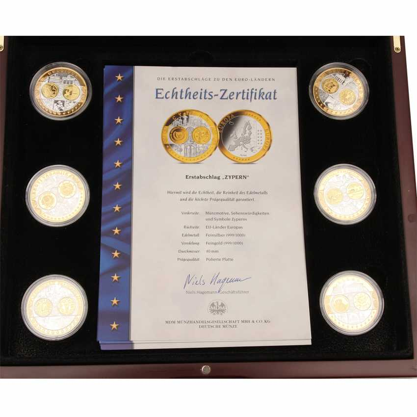 2 Sets of silver commemorative medals consisting of - photo 4