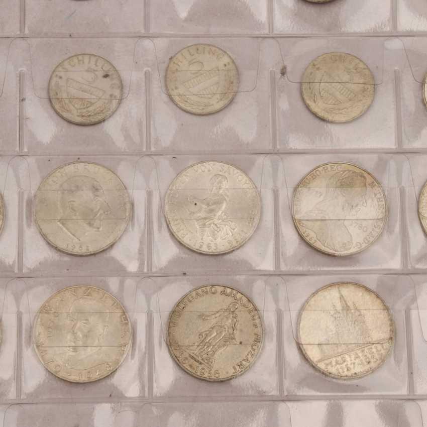 Austria - 1 x 500 shillings, 10 x 100 shilling, - photo 4