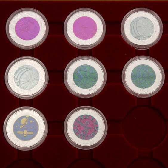Chic Compilation Of Bimetallic Coins Of Austria - photo 2