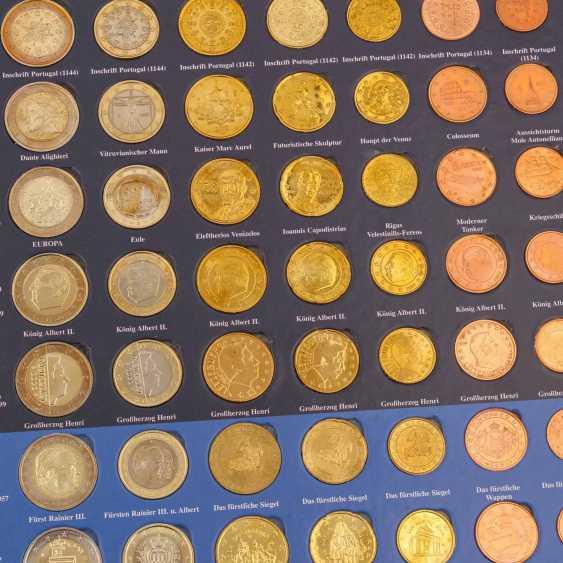 San Marino/Vatican/Monaco - Lot with Euro coins - photo 3