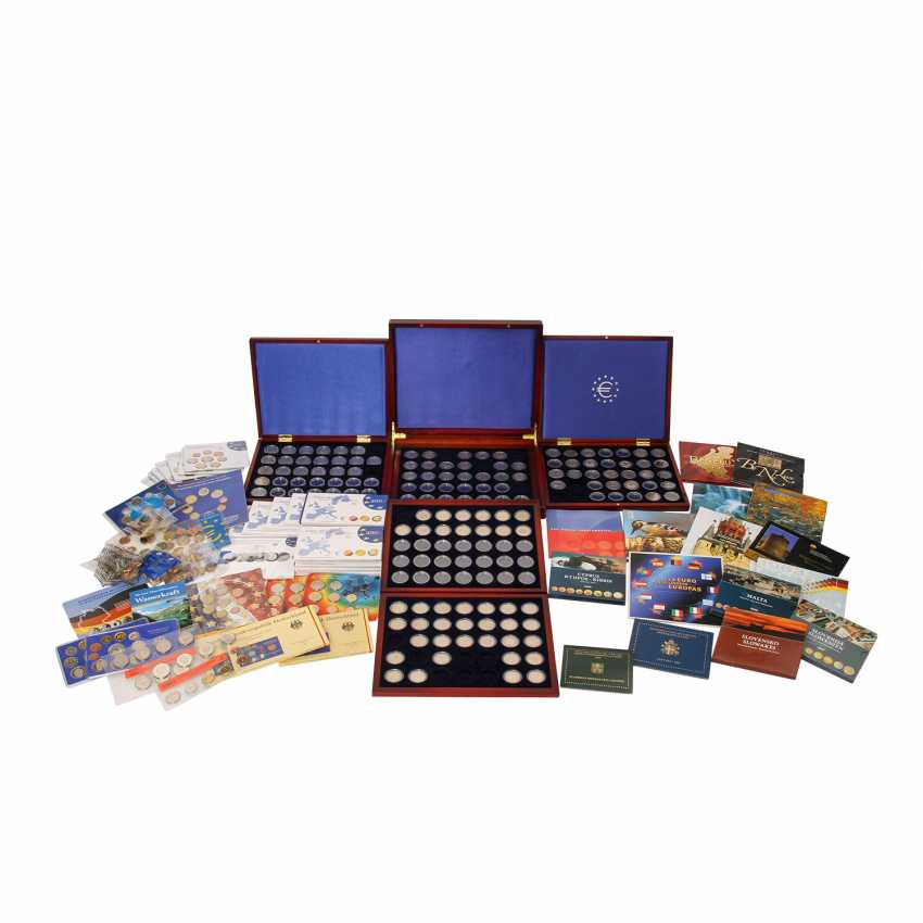 Lot coin sets DM and the EURO - starter kits, - photo 1