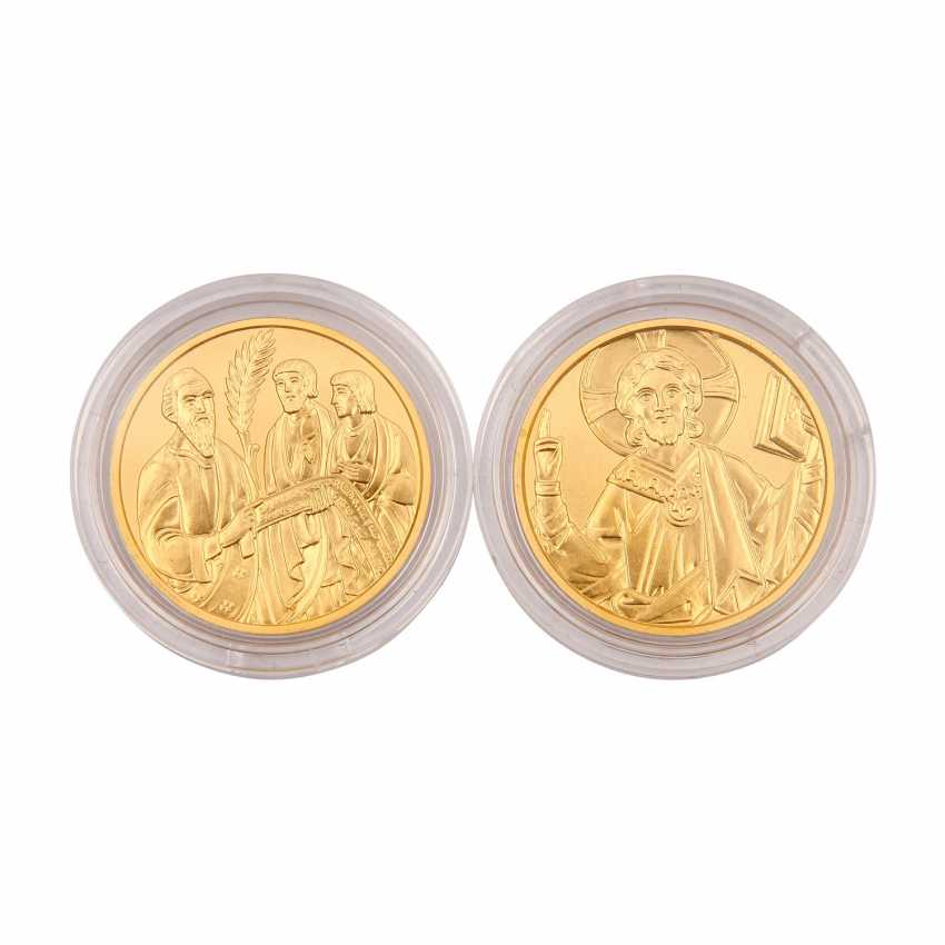 Small Mini-GOLD-vintage-Austria - consisting of - photo 1