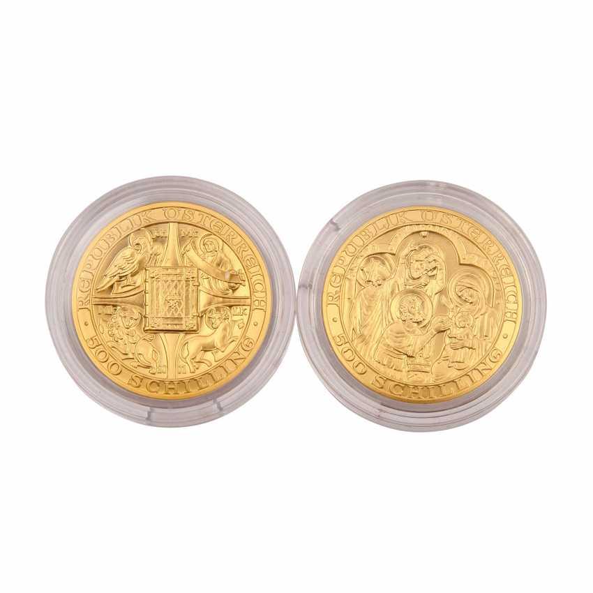 Small Mini-GOLD-vintage-Austria - consisting of - photo 2