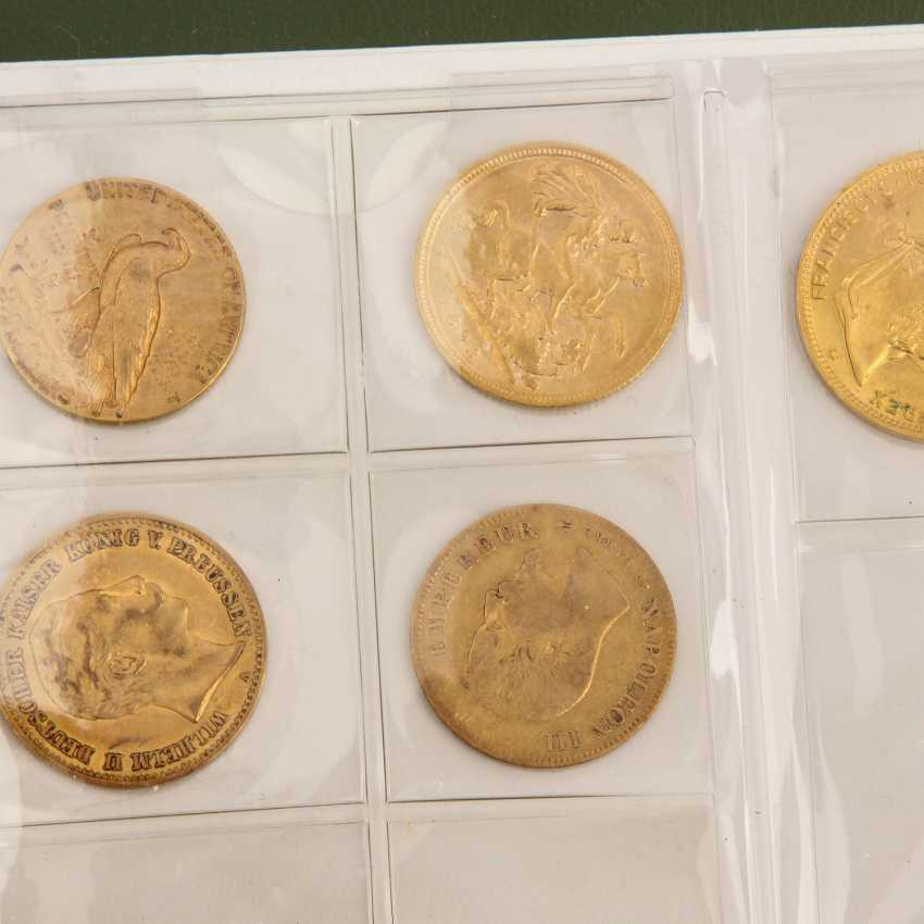 Interesting compilation of coins and medals, in GOLD and SILVER - photo 6