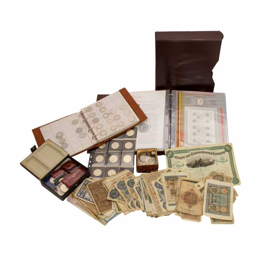 Collection Of Coins, Medals, Bank Notes. - photo 1
