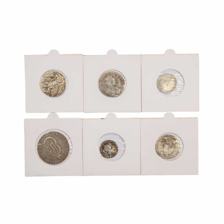 Russia - collection of various copper coins and silver coins. - photo 4