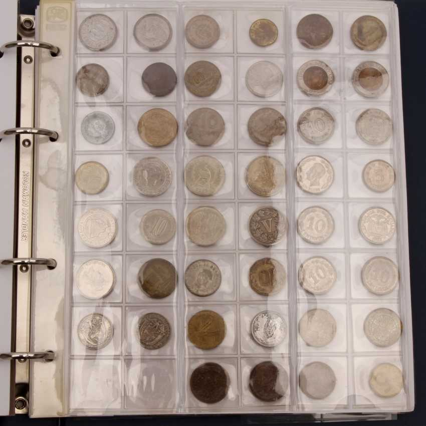 South America - collection of older small coins, - photo 2