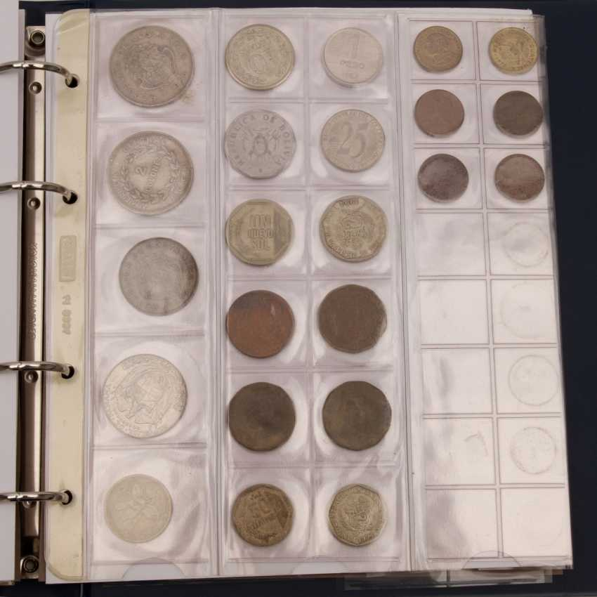 South America - collection of older small coins, - photo 5