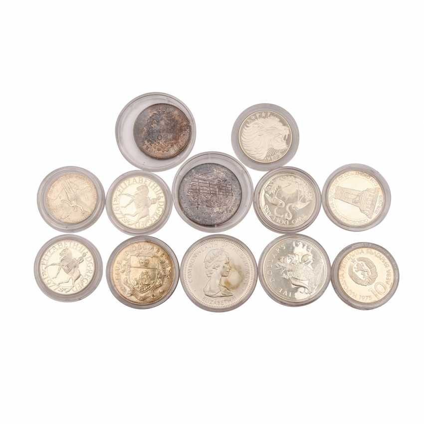 World coins - mixed lot of 10 silver coins, - photo 2