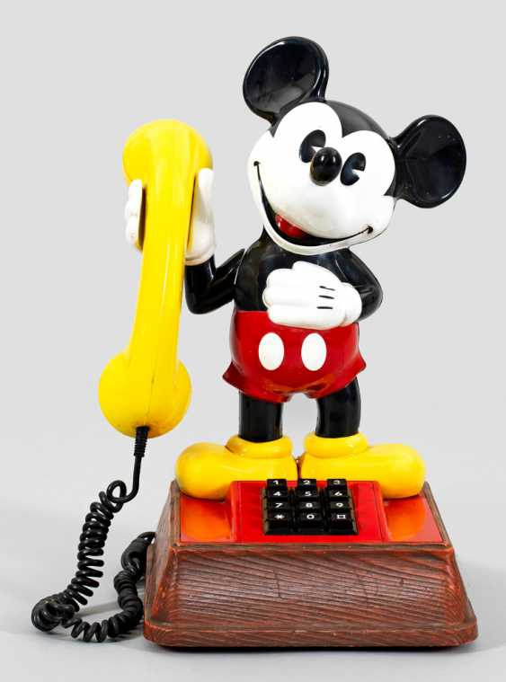 Vintage-Mickey Mouse-Telefon - photo 1