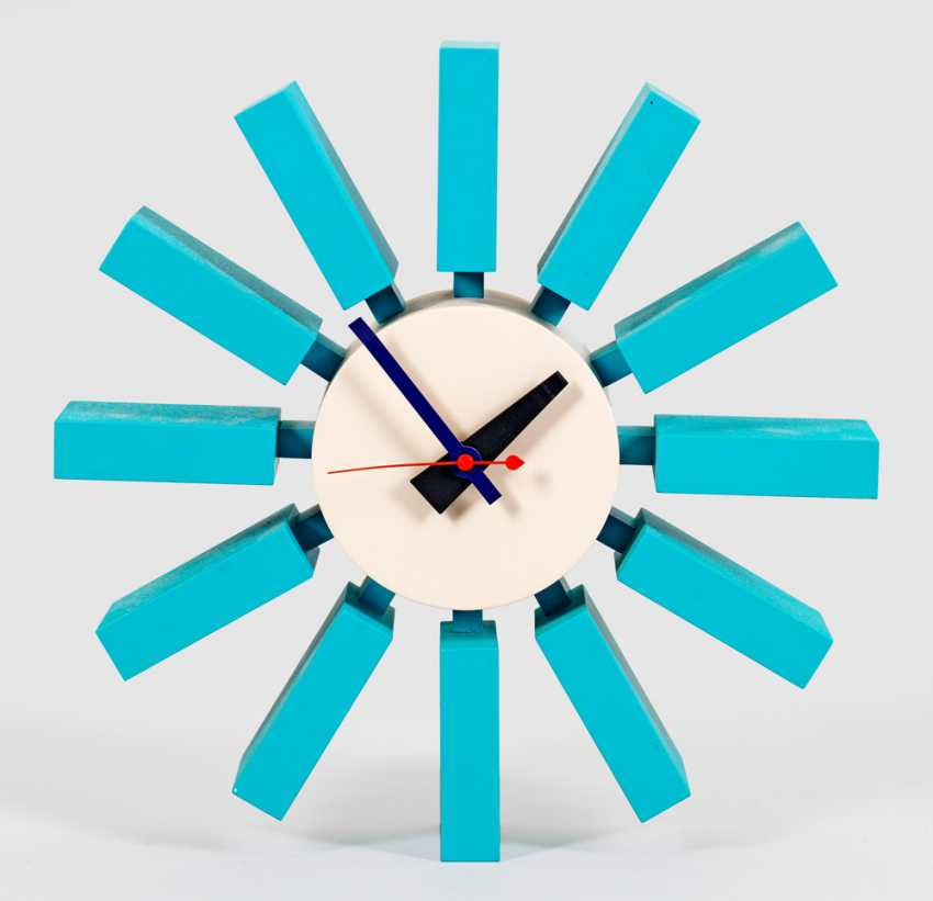 Wall clock Block by George Nelson - photo 1