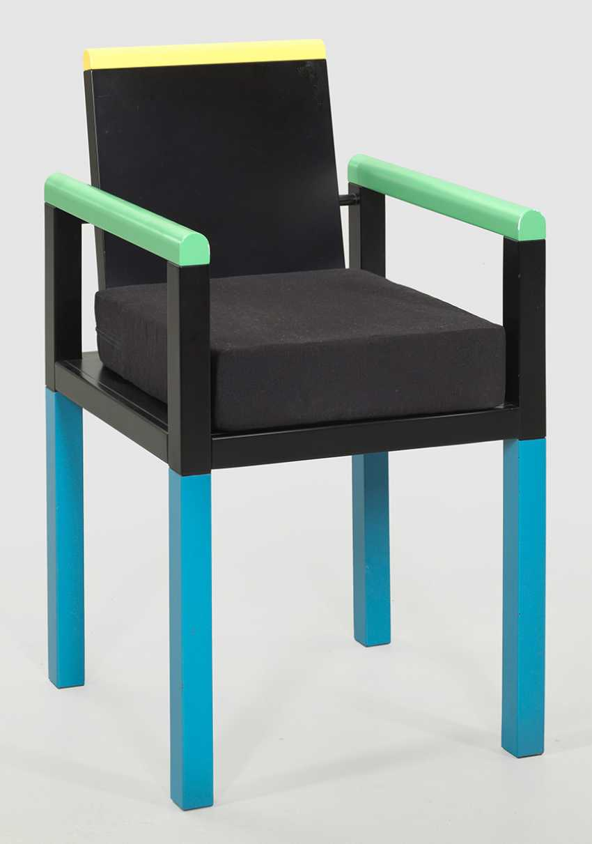 "Memphis armchair ""Palace"" by George James Sowden - photo 1"