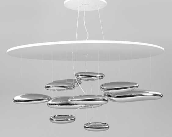 "Large ceiling lamp ""Mercury"" by Ross Lovegrove - photo 1"