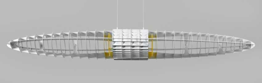 """Deckenleuchte """"Titania"""" von Alberto Meda & Paolo Rizzatto - photo 1"""