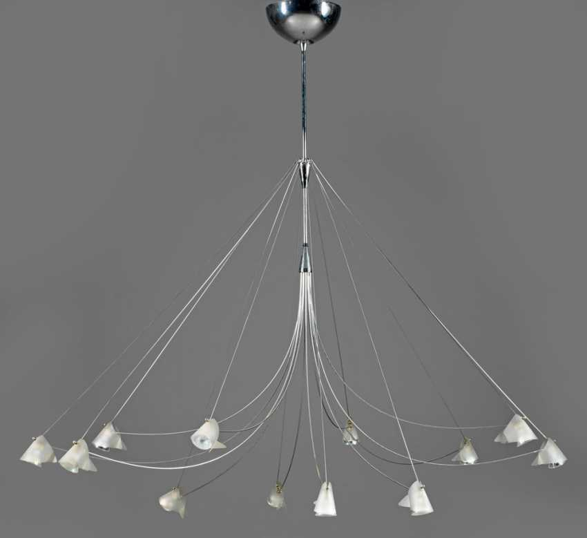 "Large ceiling chandelier ""Andromeda"" by Solzi Luce - photo 1"