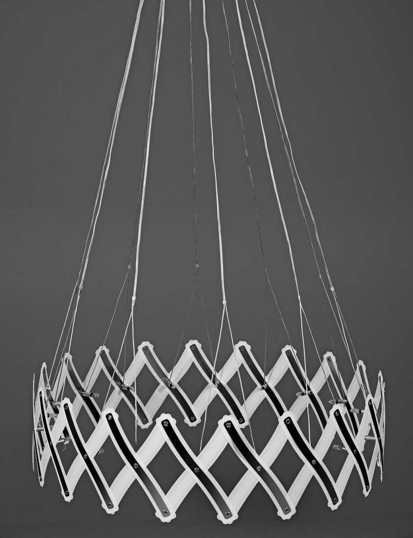 """Large ceiling lamp """"Zoom"""" by Floyd Paxton - photo 1"""