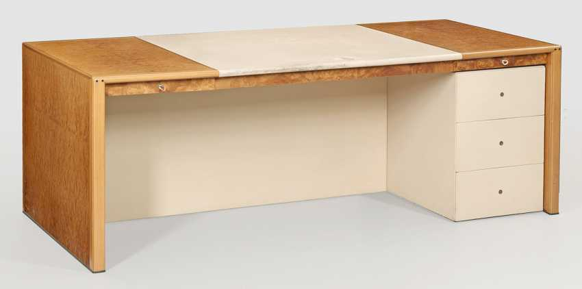 """Large work Desk """"Africa"""" by Tobia and Afra Scarpa - photo 1"""