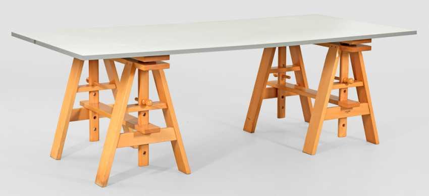 """Large work Desk """"Leonardo"""" by Achille Castiglioni - photo 1"""
