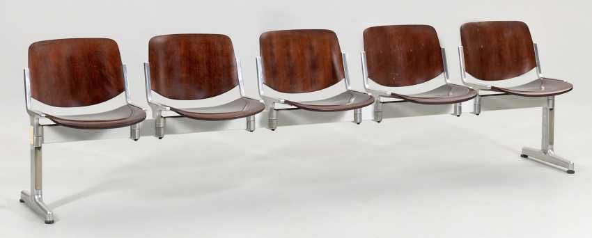 """Sitzbank """"Axis 3000"""" von Giancarlo Piretti - photo 1"""