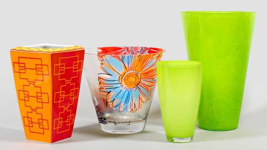 Four Design Vases - photo 1