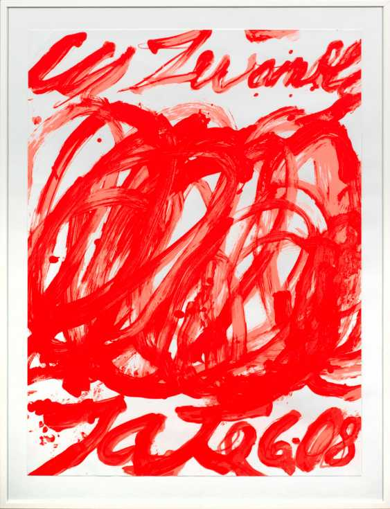 Three charts and posters of Sam Francis, Henri Matisse - photo 1