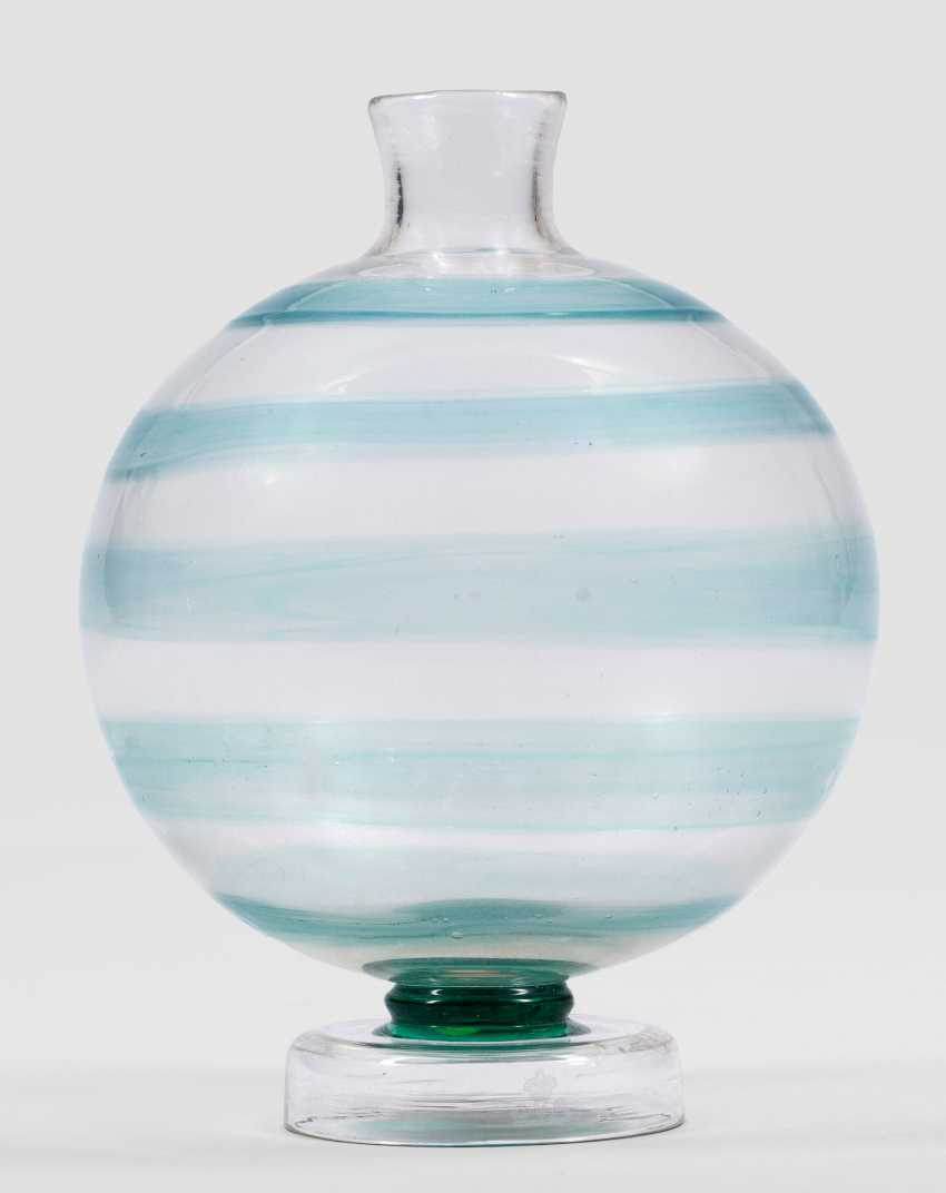 "Rare ""Soffiato""Vase with ribbon decor - photo 1"