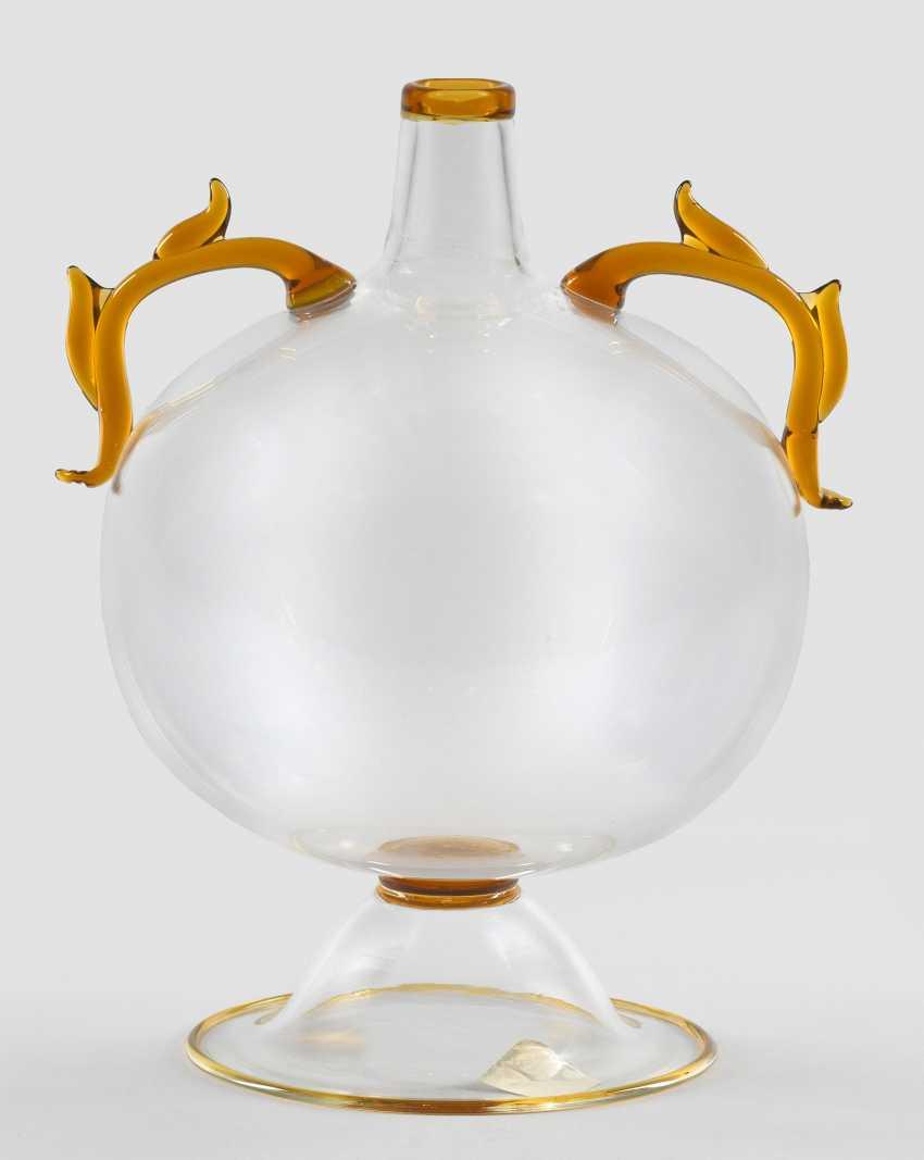 """Rare """"Soffiato""""Vase by Ercole Barovier - photo 1"""