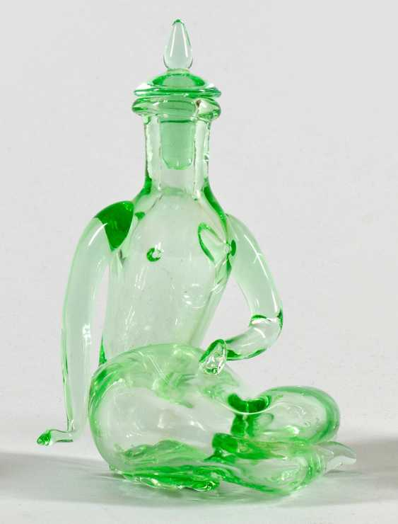 Seated female figure in a bottle - photo 1
