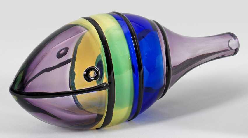 Fischskulptur von Alfredo Barbini - Foto 1