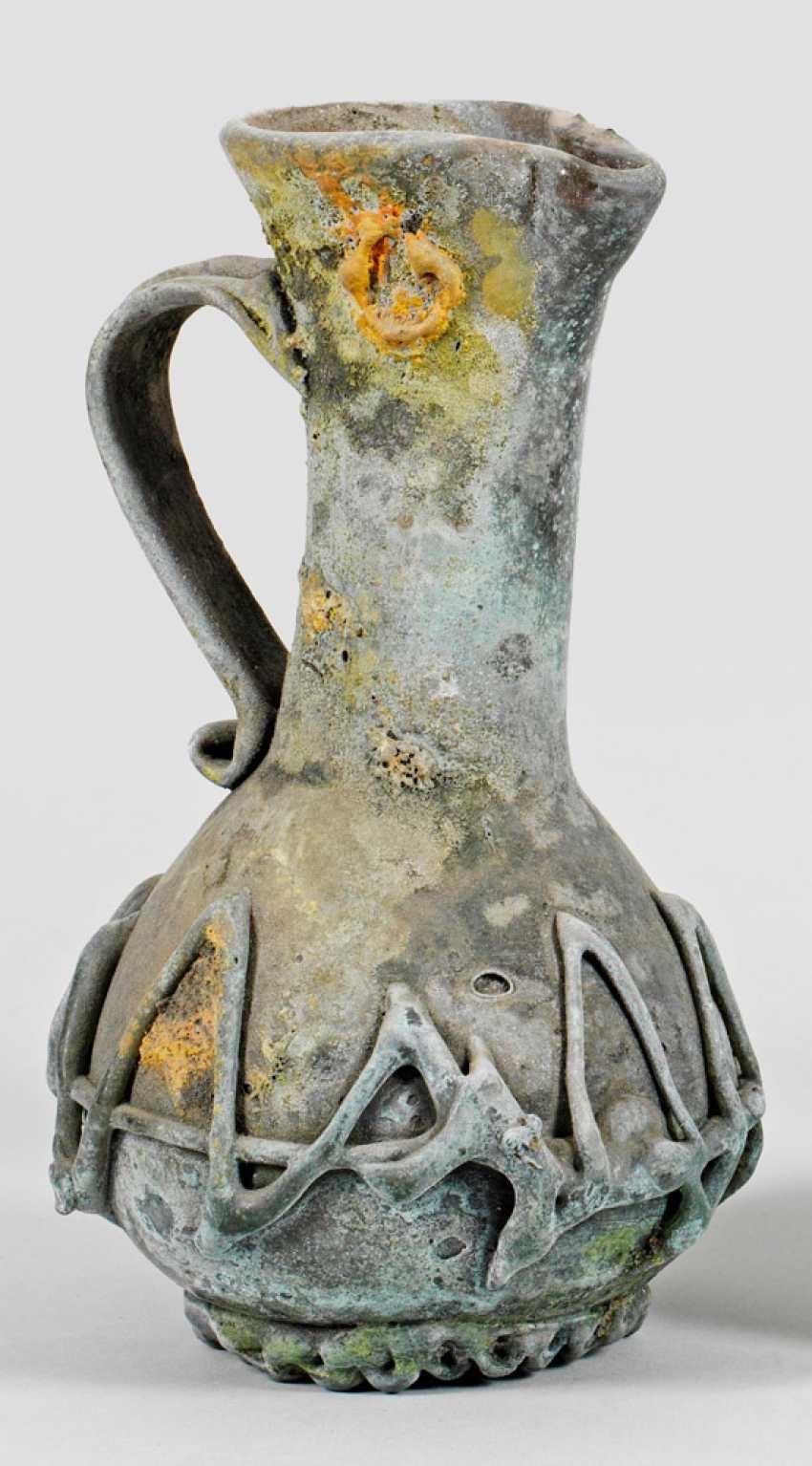 """Archaische Kannenvase """"Glass scavo von Ermanno Nason - photo 1"""