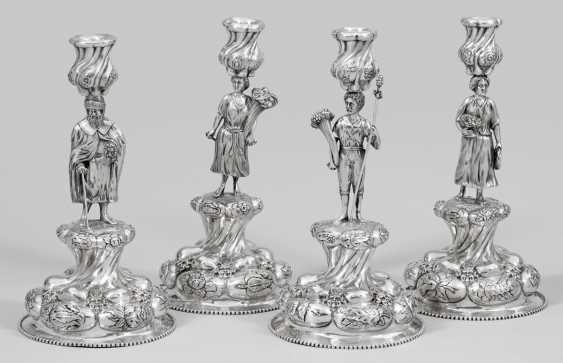 "Four large historicism candelabra ""Four seasons"" - photo 1"
