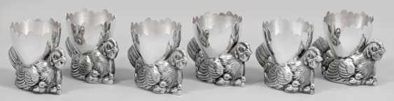 Six Egg Cups - photo 1