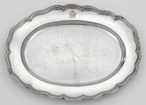 Hamburger Serving Plate Has A - photo 1