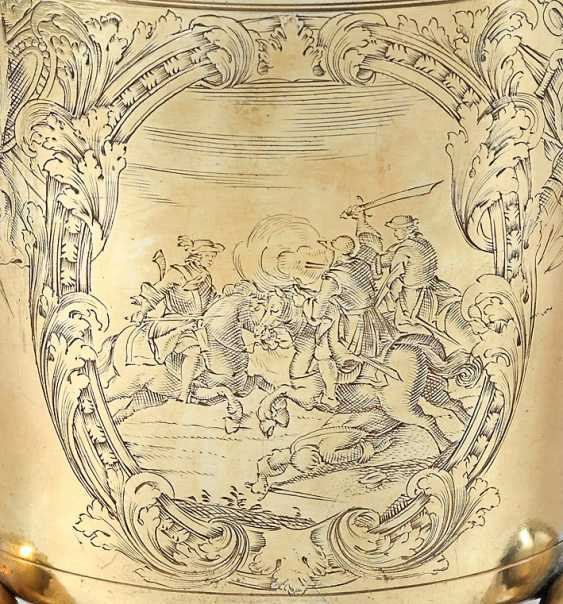 Rare Early Baroque Ball Footed Beaker - photo 3