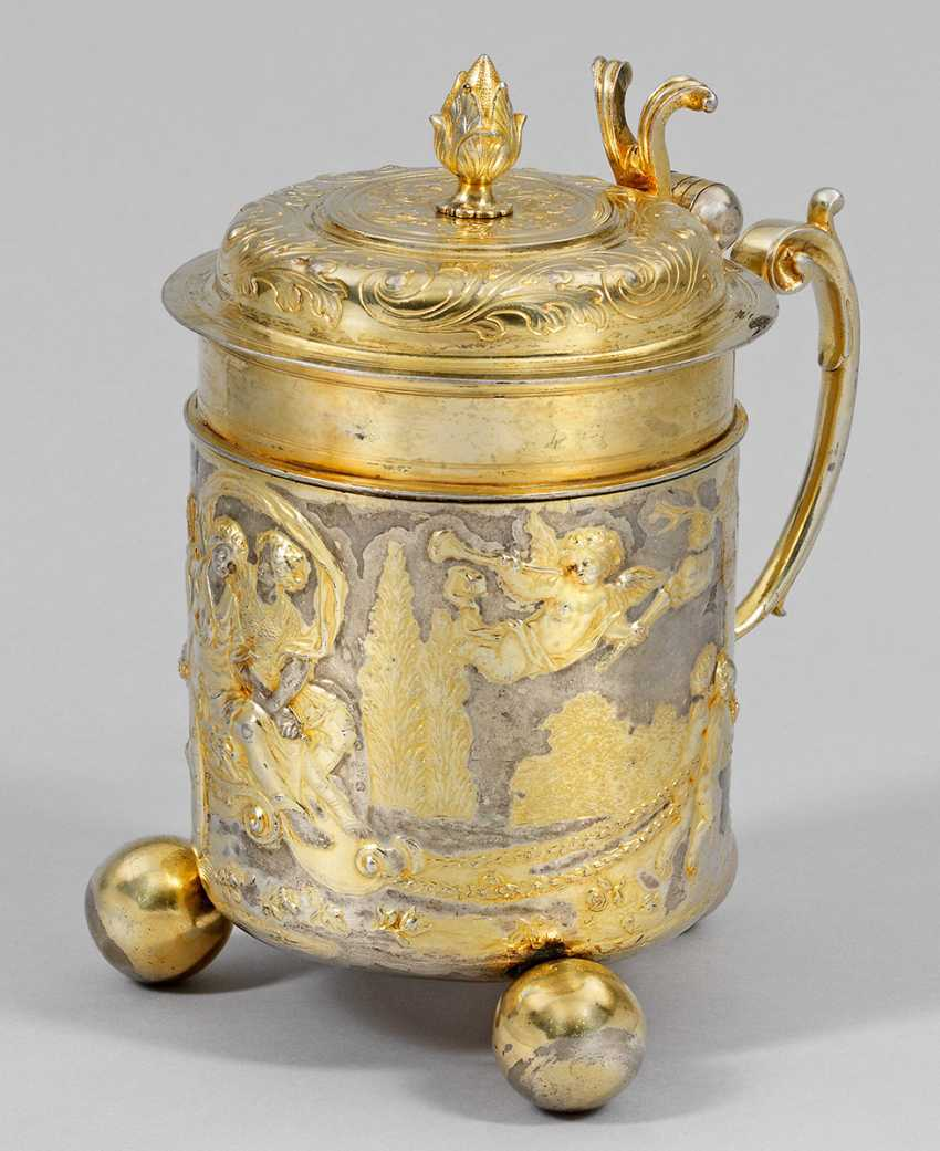 Great Augsburg Baroque Ceremonial Tankard - photo 1