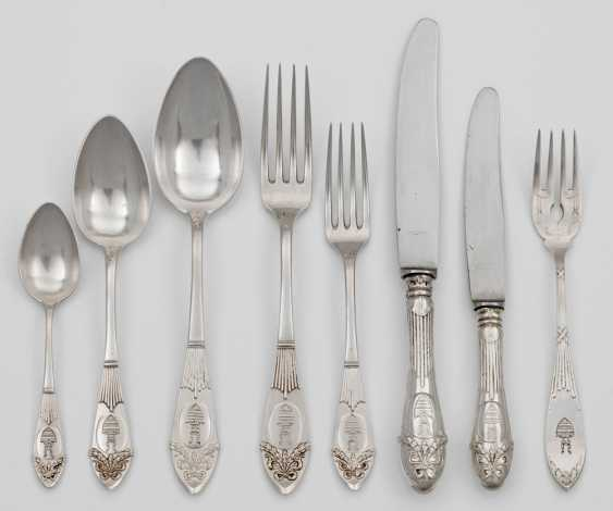 Rest of the Cutlery in the Empire style - photo 1