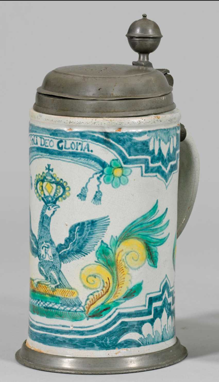 Roller jug with Prussian eagle - photo 1