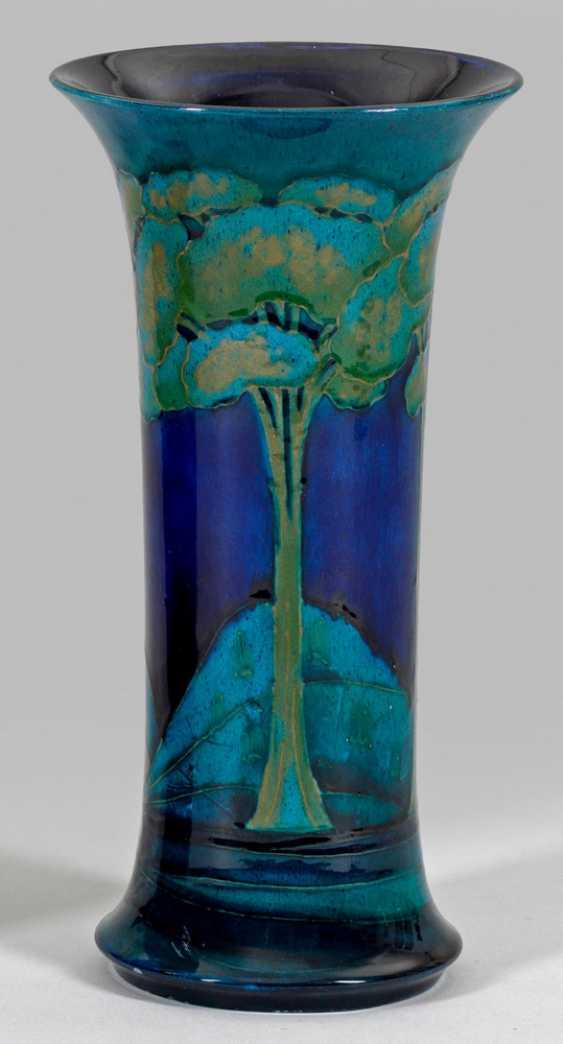 Monlit Blue-Vase von William Moorcroft - photo 1