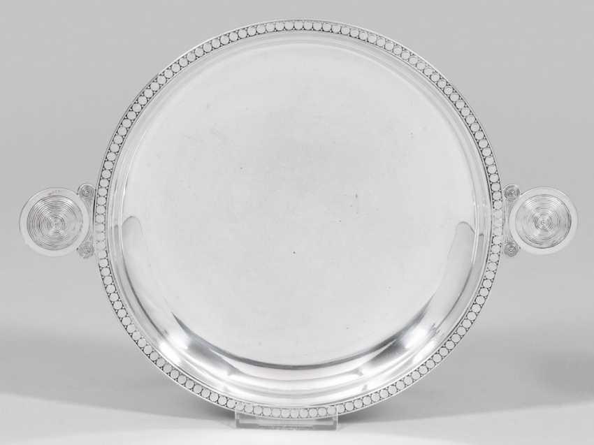 Flat Art Nouveau Style Bowl - photo 1