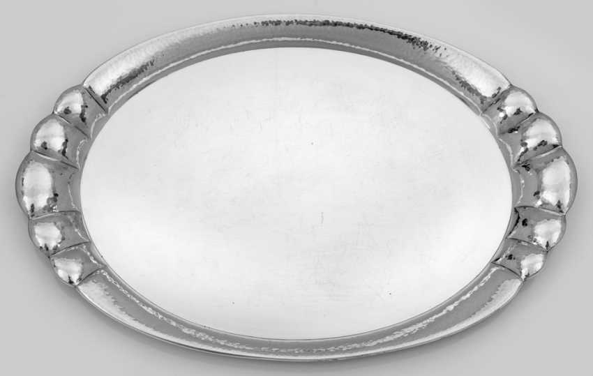 Large Art Deco Tray - photo 1