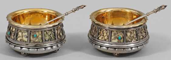 Pair Of Art Nouveau Salieren - photo 1