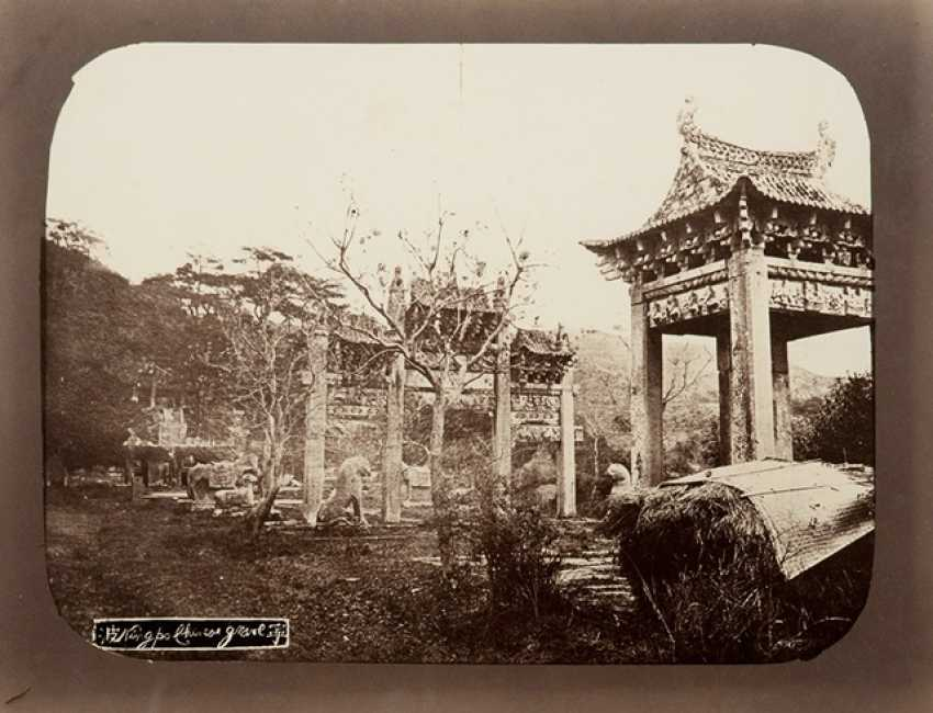 Five historic photographs, with scenes from the Jiangnan Region - photo 1