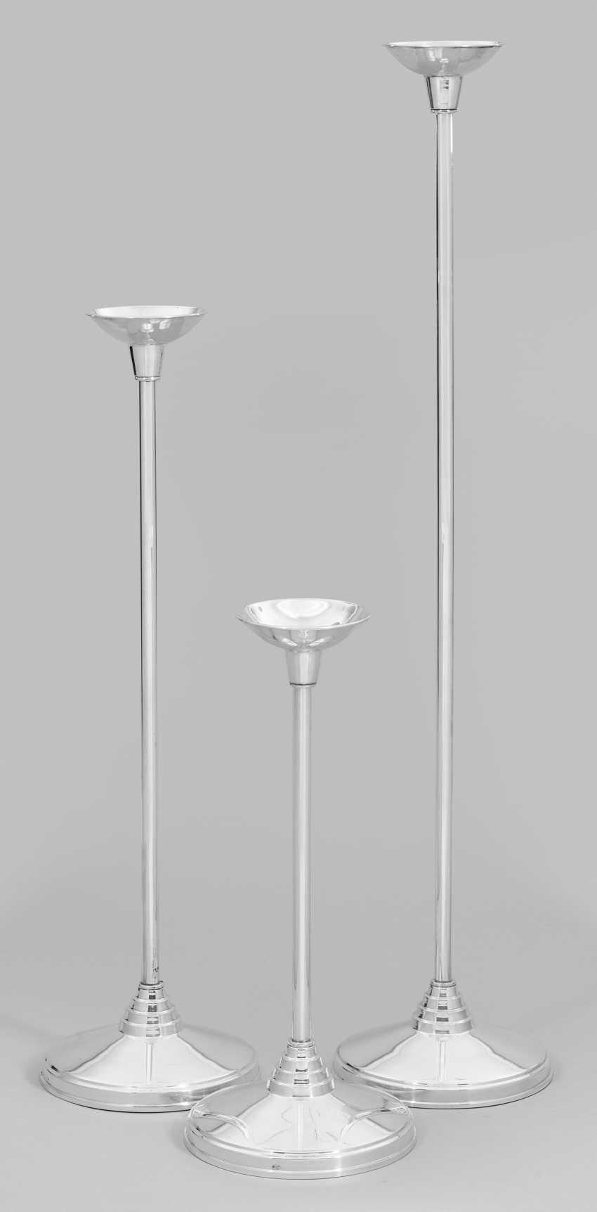 Three modern stand chandelier - photo 1